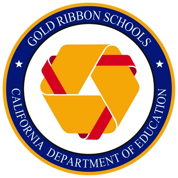 California Gold Ribbon School website
