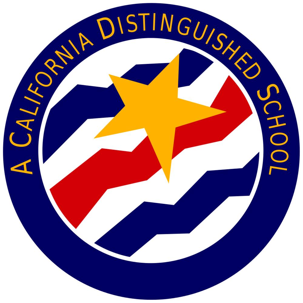 California Distinguished School Emblem